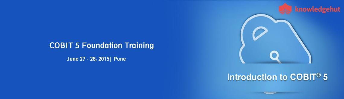 Book Online Tickets for COBIT 5 Foundation Training in Pune, Ind, Pune.  COBIT® 5 Foundation Training in Pune, India  http://www.knowledgehut.com/it-security/cobit-5-foundation-training-pune#cls  Course Overview:  With IT becoming the backbone of processes in most organizations big or s