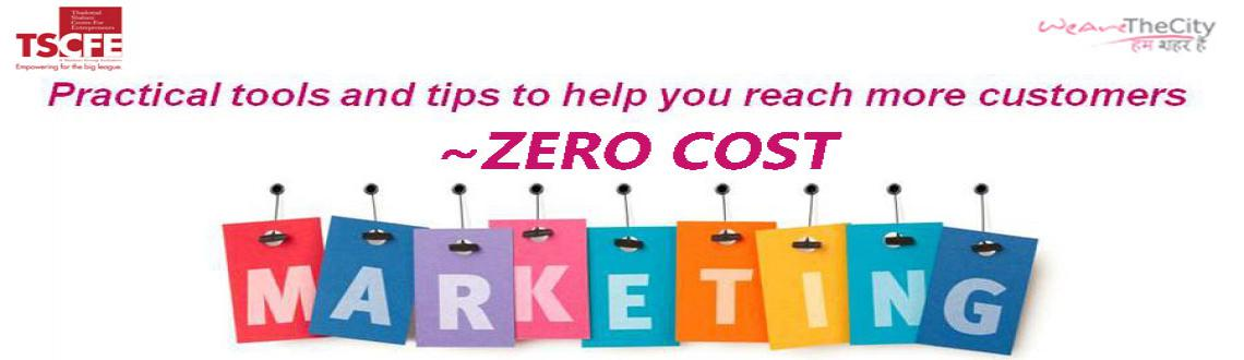 Book Online Tickets for Zero Cost Marketing - Exclusive Seminar , Mumbai. 