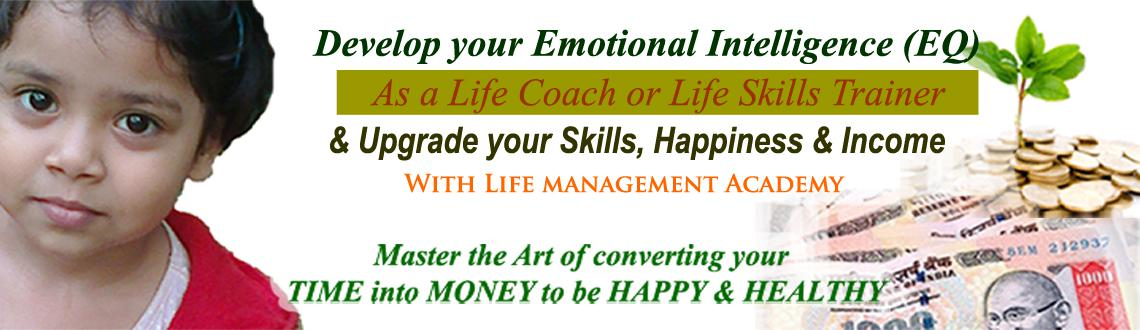 Book Online Tickets for Become a Life Coach/ Trainer to upgrade , Hyderabad. Here is your opportunity to start a career Full-Time or Part-time, as a highly respected, highly sought after and highly rewarded as aLife Coach or Life Skills Trainer with Life Management Academy.