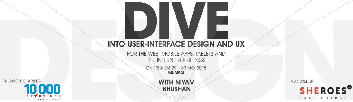 Two-day workshop on user-interface design and user-experience. For mobile-apps, tablets, website-designs, and Internet-of-things (IoT). Mumbai, India