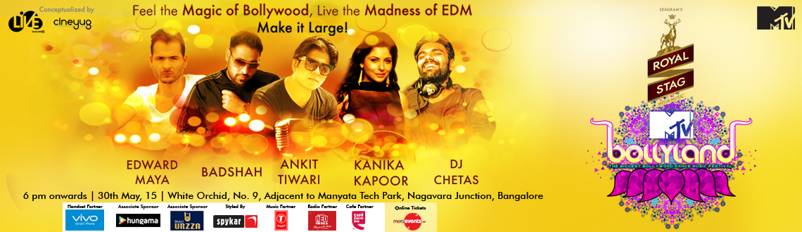 MTV Bollyland 2015 at Bangalore
