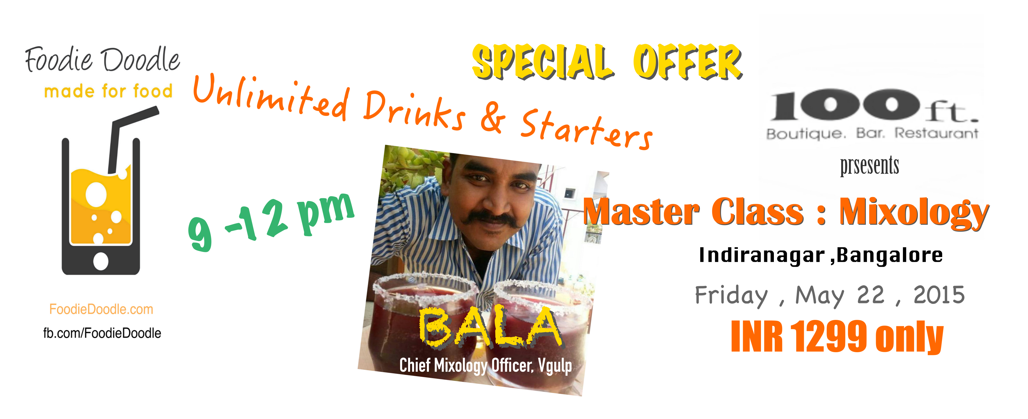 MIXOLOGY - Master Class with Bala