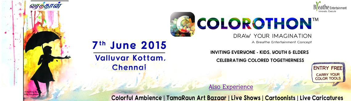 Colorothon Chennai 2015 - Draw Your Imagination, Season 5