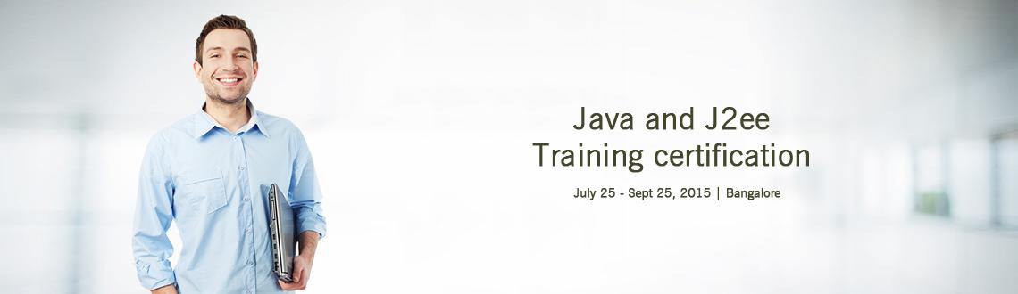 Java and J2ee Training certification in Bangalore