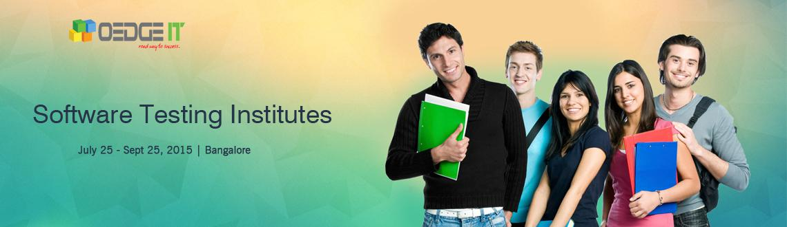 Software Testing Institutes iIn Bangalore
