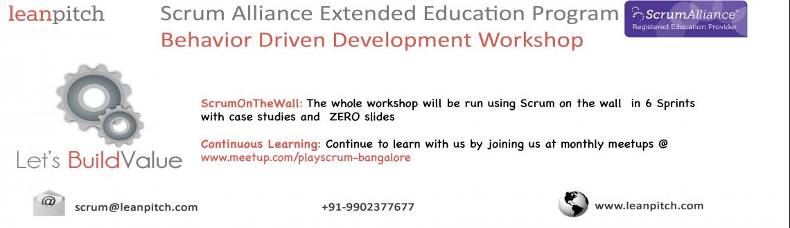 Book Online Tickets for Scrum Alliance Extended Education: Behav, Bengaluru. 