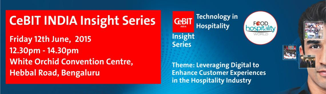 CeBIT INDIA Insight Series_Bangalore