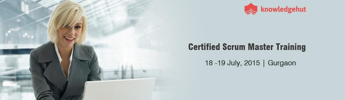 Book Online Tickets for Certified Scrum Master Training (CSM) in, Gurugram.  