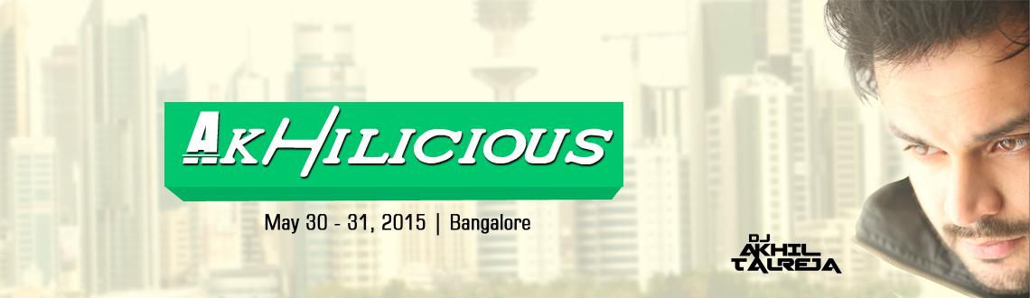 Akhilicious Saturday at City Bar, UB City with DJ Akhil Talreja  Electro Smashers
