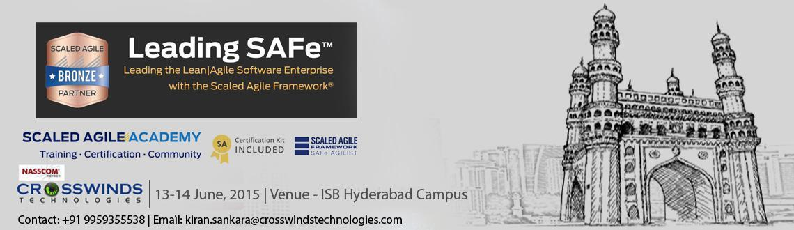 Leading SAFe Programs at ISB Hyderabad tickets available online from MeraEvents.com. Get Training schedule planning, available tickets rates for Leadi