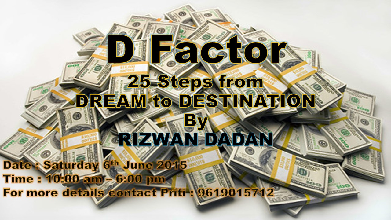 D Factor - 25 Steps from Dreams to Destination