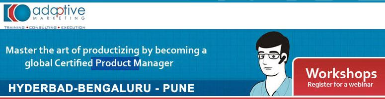 Adaptive Product Management Professional@ Pune on 21st-25th September 2011