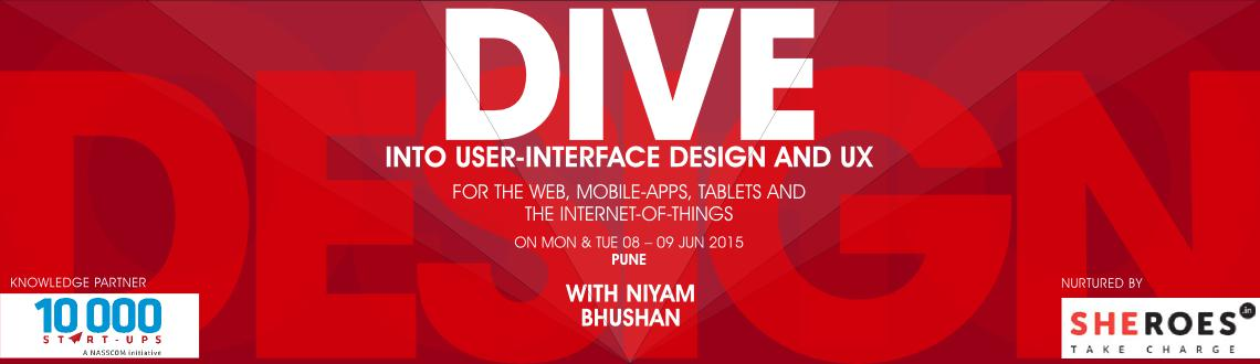 Two-day workshop on user-interface design and user-experience. For mobile-apps, tablets, website-designs, and Internet-of-things (IoT). Pune, India