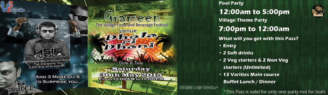 Grameen The Village Food and Beverage Festival