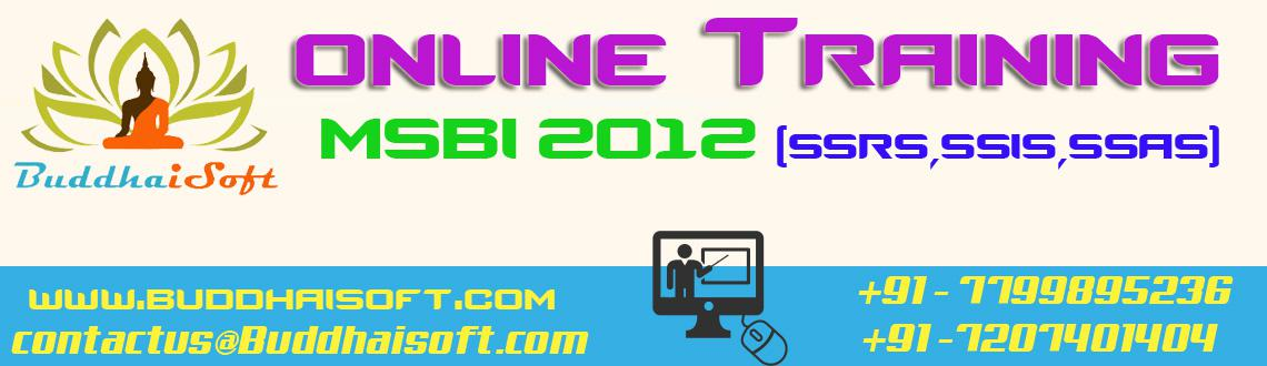 Book Online Tickets for MSBI(SSRS,SSAS,SSIS)  Online Training Co, . MSBI(SSRS,SSAS,SSIS), QlikView,Tableau Online Training