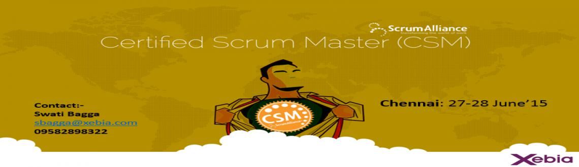 Certified Scrum Master | 27-28 June15 | Chennai