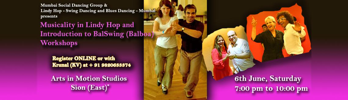 Musicality in Lindy Hop and introduction to Balbao (BalSwing) workshop