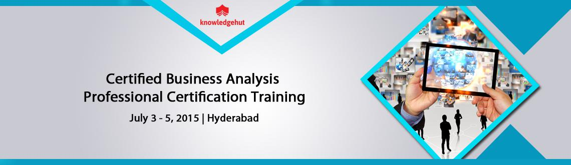 Certified Business Analysis Professional Certification Training in Hyderabad