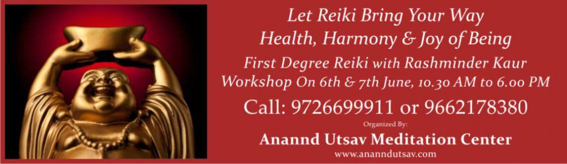Reiki First Degree Workshop