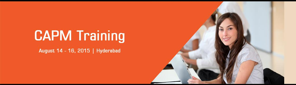 Book Online Tickets for CAPM Training in Hyderabad - Aug, Fri 14, Hyderabad. PMI®'s Certified Associate in Project Management (CAPM)® is the most valuable entry-level certification for practicing project practitioners & project aspirants. Designed for people with minimal or absolutely no project experience,