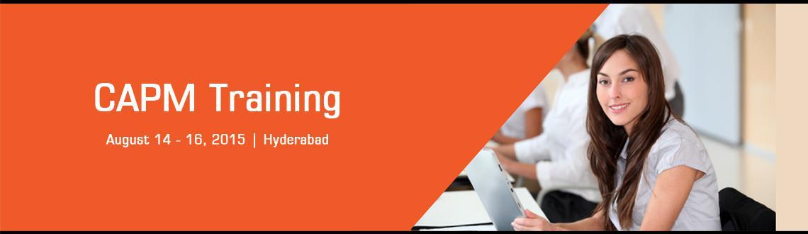 CAPM Training in Hyderabad - Aug, Fri 14, Sat 15, Sun 16