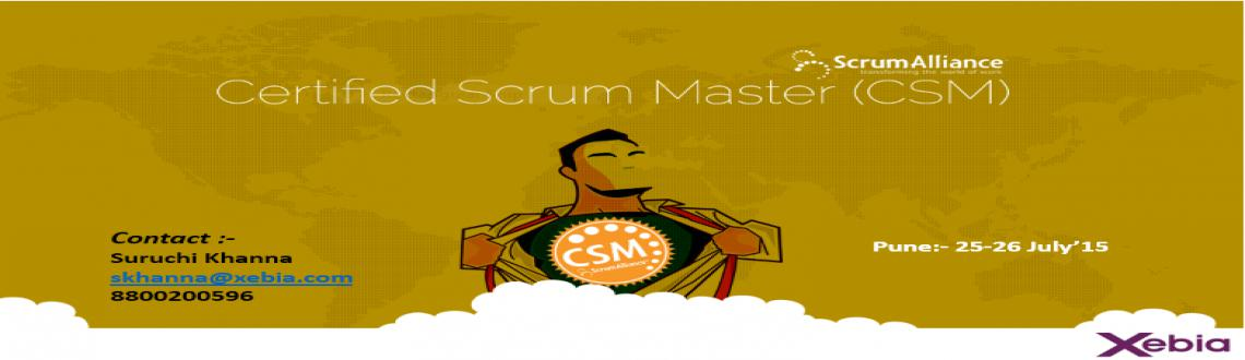Certified Scrum Master |Pune|25-26 July15