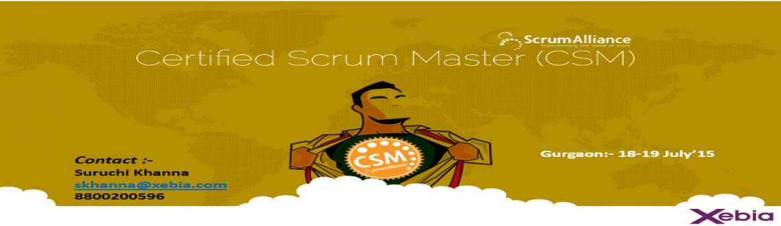 Certified Scrum Master |Gurgaon|18-19 July15