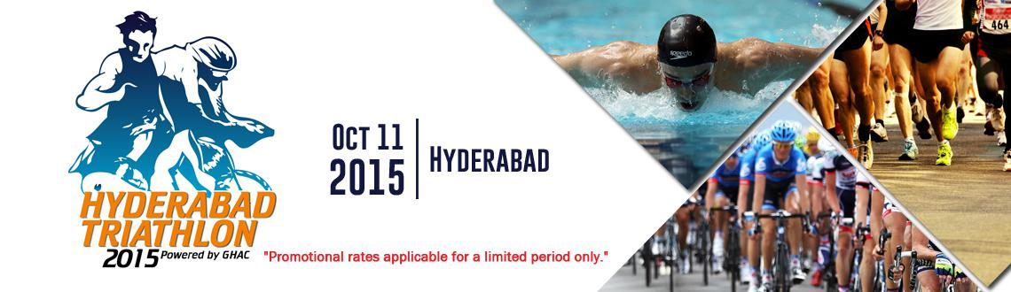 Book Online Tickets for Hyderabad Triathlon 2015, Hyderabad. The Hyderabad Triathlon 2015