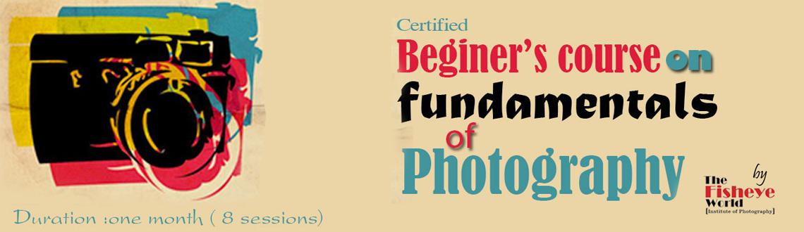 Basic Photography Course (one month)