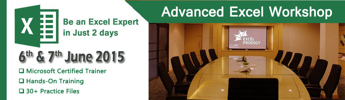 Book Online Tickets for Advanced Excel Training for Working Prof, Chennai. Dear Professionals,
