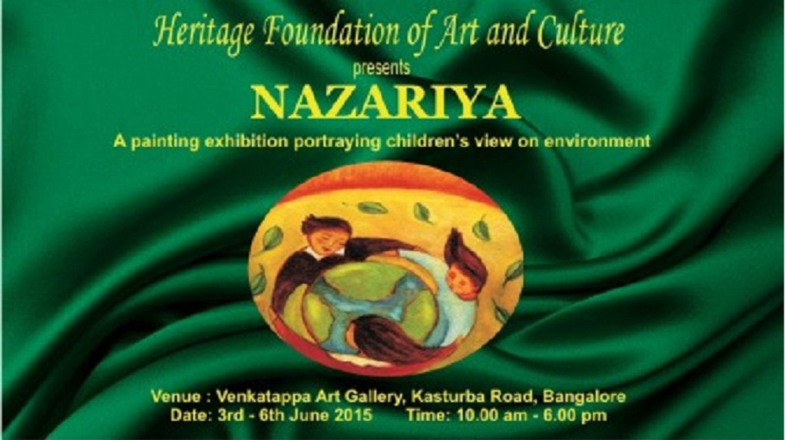 Nazariya - Painting Exhibition - Arts & Crafts in Karnataka Chitrakala Parishath (Seshadripuram) Bangalore/Bengaluru. Get complete event details like