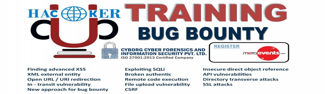 Book Online Tickets for CCFIS HackerCup Training: Bug Bounty, Noida. CCFIS HackerCup Trainings: Bug Bounty