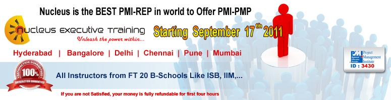 Project Management Professional Certification & Microsoft Project - 2010 By Official PMI R.E.P in Hyderabad