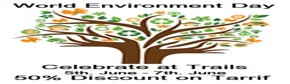 Book Online Tickets for World Environment Day, vikarabad. Come & Celebrate this Weekend that marks the \\'World Environment Day\\' in the midst of Nature\\'s Splendour at DeccanTrails with a 50% Discount on regular Tariff!!!