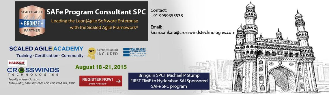 Book Online Tickets for SAI SPONSORED SAFe Program Consultant SP, Hyderabad. Cource Overview: