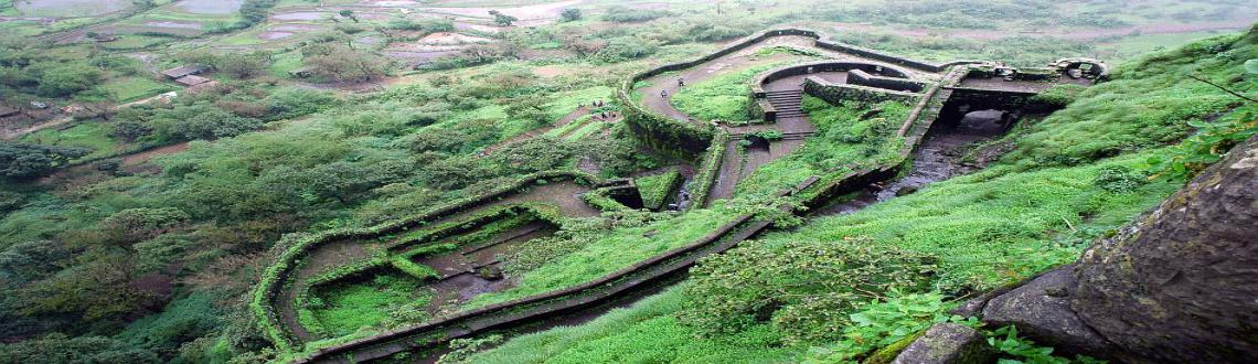 "Book Online Tickets for Treks and Trails India-One day trek to L, Mumbai. One day trek to Lohagad on 14 June 2015, SundayAbout:Fort: Lohgad.Region: Lonavla.Height: 3400 ftGrade: EasyCost:500 History:Lohagad ""Iron fort"" is one of the many hill forts of Chatrapati Shivaji. It divides the basins of the Indrayani a"