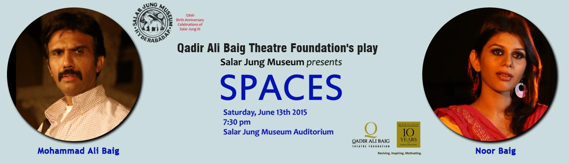 Qadir Ali Baig Theatre Foundations Spaces - play