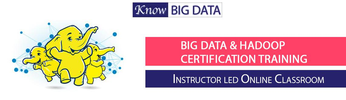 Big data and Hadoop training with Certification Bangalore