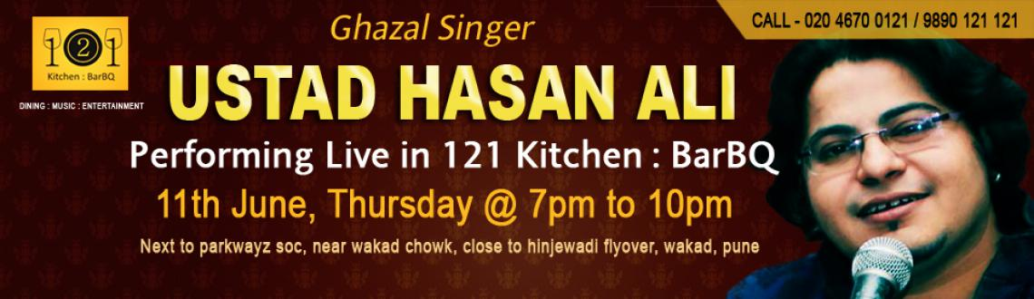Ghazal nights in Pune at 121 Kitchen : BarBQ