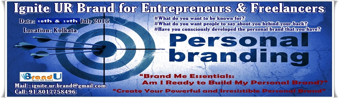 Ignite UR Brand Workshop for Freelancers and Entrepreneurs