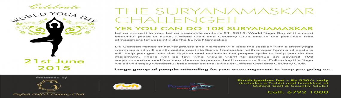 The SuryaNamaskar Challenge - 108 Sun Salutations .