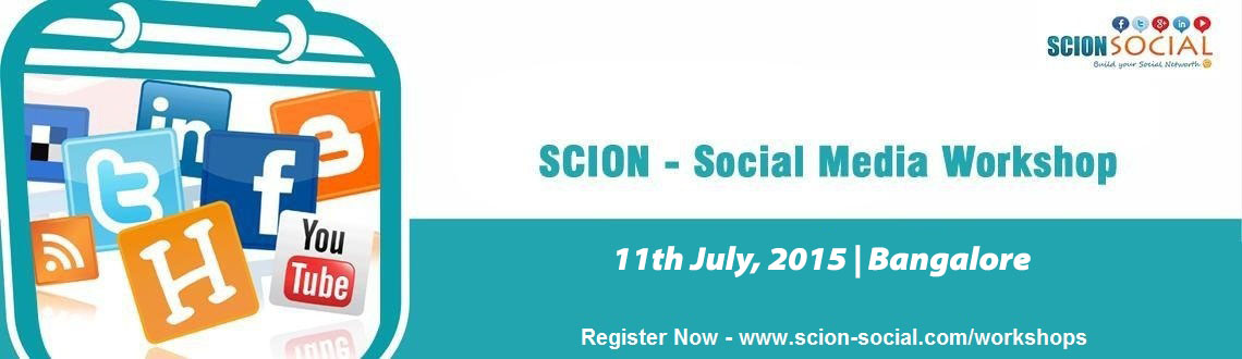 Social Media Workshop BANGALORE - 11th July 2015