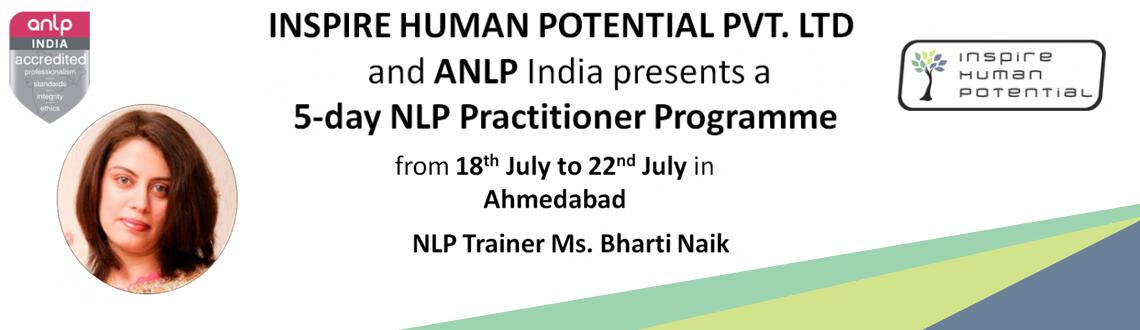 Book Online Tickets for NLP Practitioner Program @ Ahmedabad, Ahmedabad. Come experience the Power of NLP Unleash your True Potential Achieve your goals and success in life…discover a better YOU!  Neuro Linguistic Programming   Neuro – stands for the thinking process: the way you use your senses t