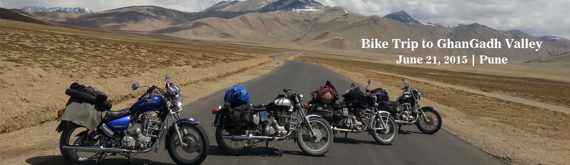 Bike Trip to GhanGadh Valley