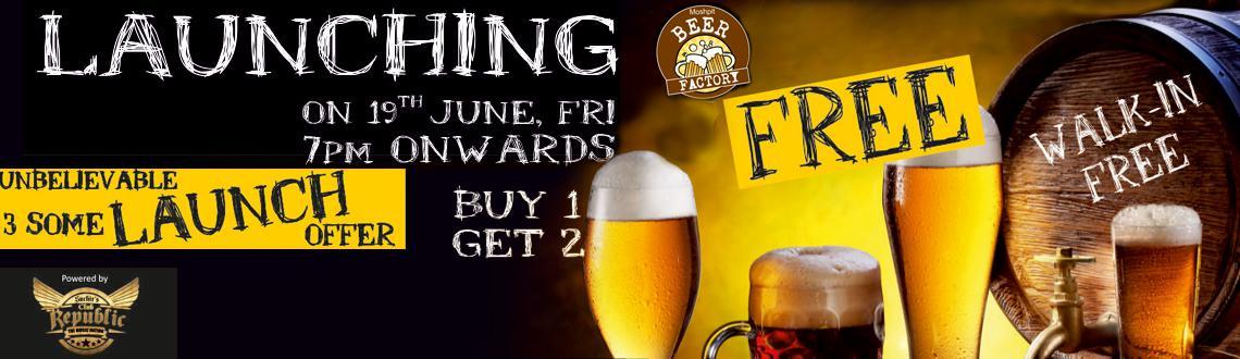Moshpit Beer Factory - Buy 1 Get 2 Free