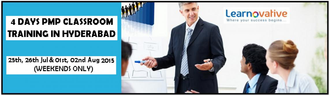 Book Online Tickets for PMP Classroom Training Program by Learno, Hyderabad. PMP® [Project Management Professional] Training in Hyderabad 25th, 26thJuly & 1st, 2nd August 2015 (Weekends only) About PMP Certification: Project Management Professional (PMP)®credential is the most important industry-rec