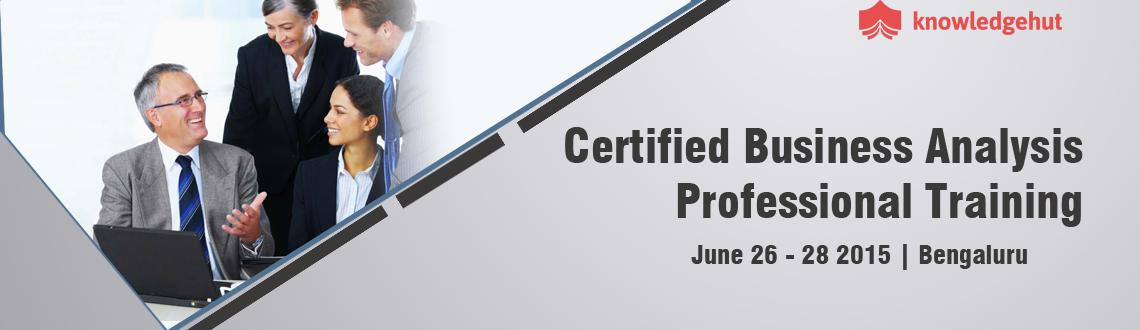 Certified Business Analysis Professional Certification Training in Bangalore
