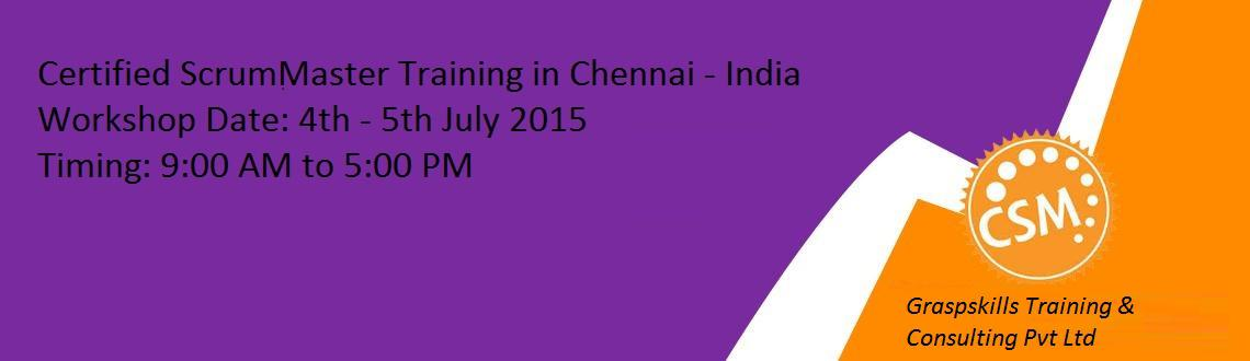 Certified ScrumMaster Training in India - Chennai