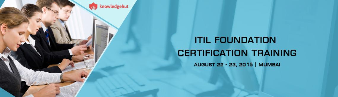 Book Online Tickets for ITIL Foundation Certification Training i, Mumbai.  