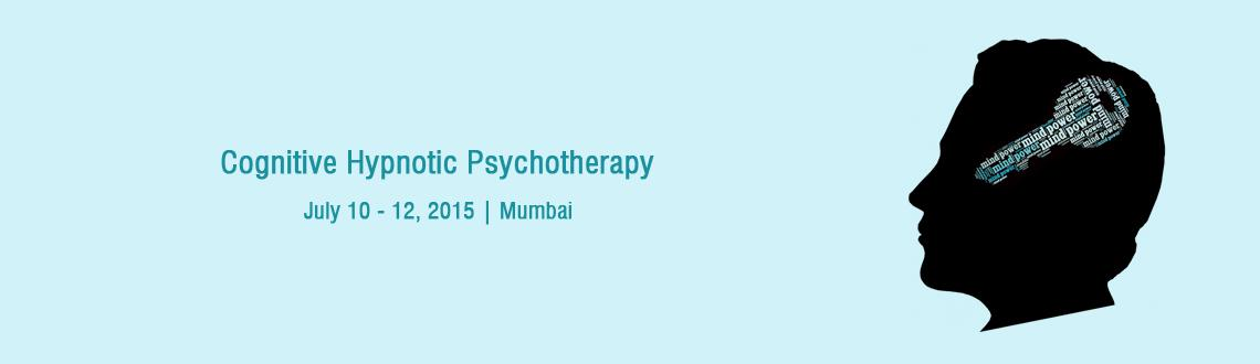 Book Online Tickets for Cognitive Hypnotic Psychotherapy, Mumbai. Cognitive Hypnotic Psychotherapy is a brief therapy that advocates the need for customizing treatments for each individual and follows a Person-centric solution focused approach. The therapy systematically works with the conscious and unconsciou